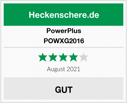 PowerPlus POWXG2016 Test