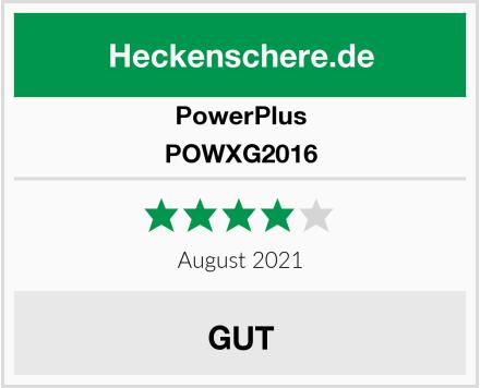 PowerPlus POWXG2016 Test