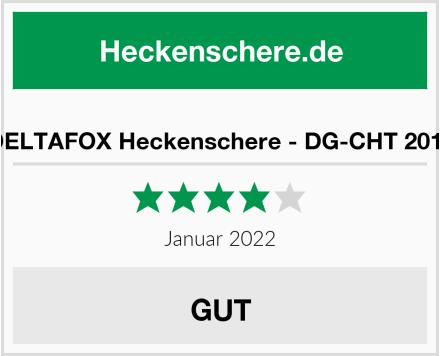 DELTAFOX Heckenschere - DG-CHT 2014 Test