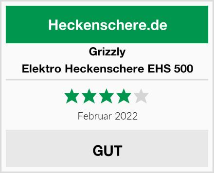 Grizzly Elektro Heckenschere EHS 500 Test