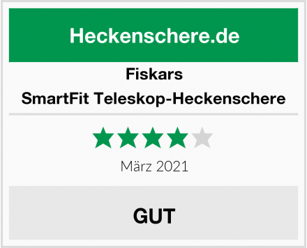 Fiskars SmartFit Teleskop-Heckenschere Test