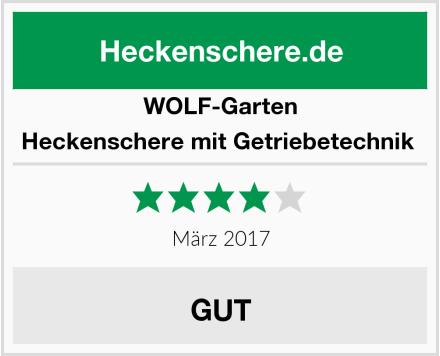 WOLF-Garten Heckenschere mit Getriebetechnik  Test