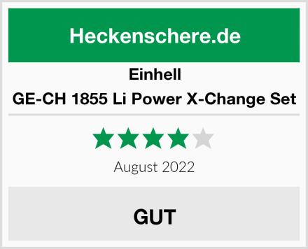 Einhell GE-CH 1855 Li Power X-Change Set Test