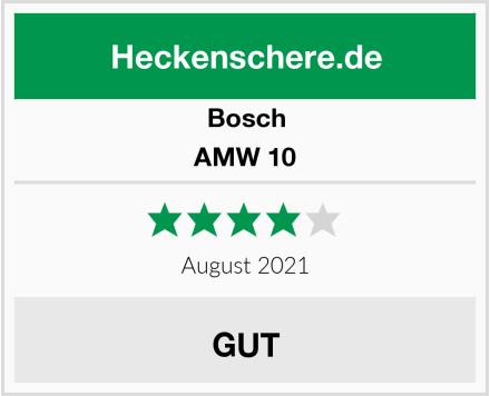 Bosch AMW 10 Test
