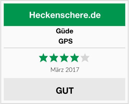 Güde  GPS Test