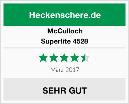 McCulloch Superlite 4528 Test