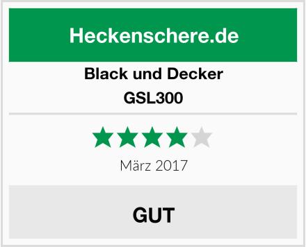 Black und Decker GSL300 Test