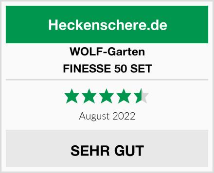 WOLF-Garten FINESSE 50 SET Test