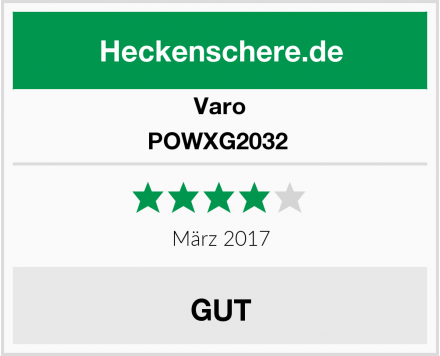 Varo POWXG2032  Test
